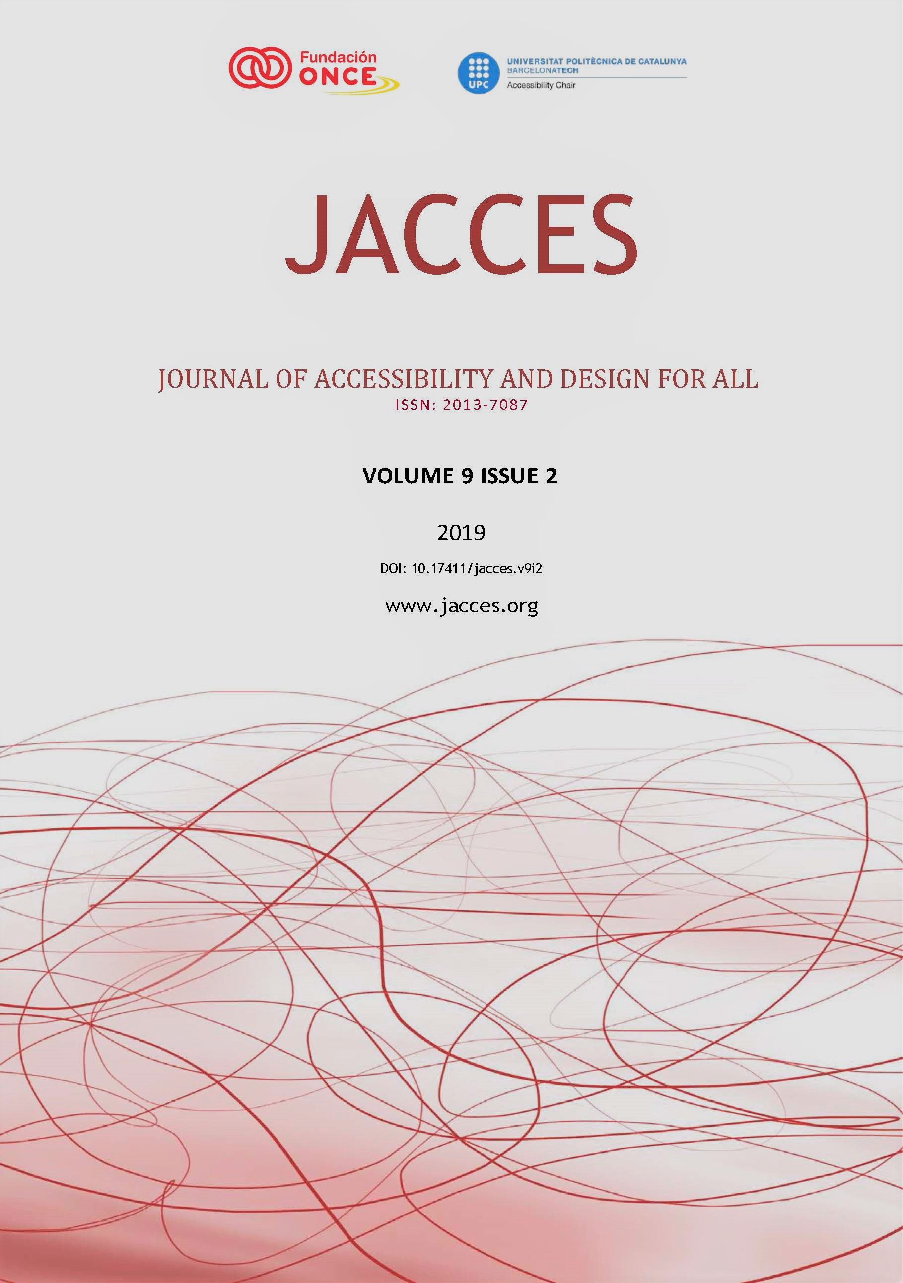 JACCES Volume 9 Issue 2 Cover